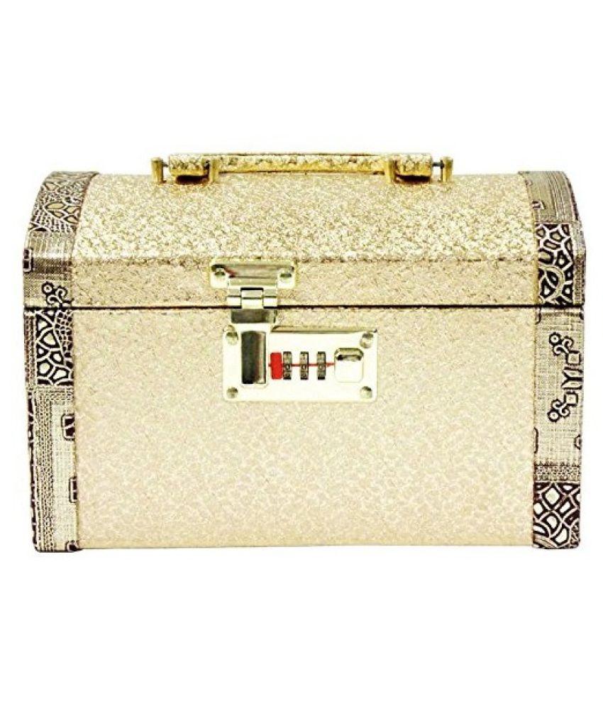 Jillian Golden Jewellery Box