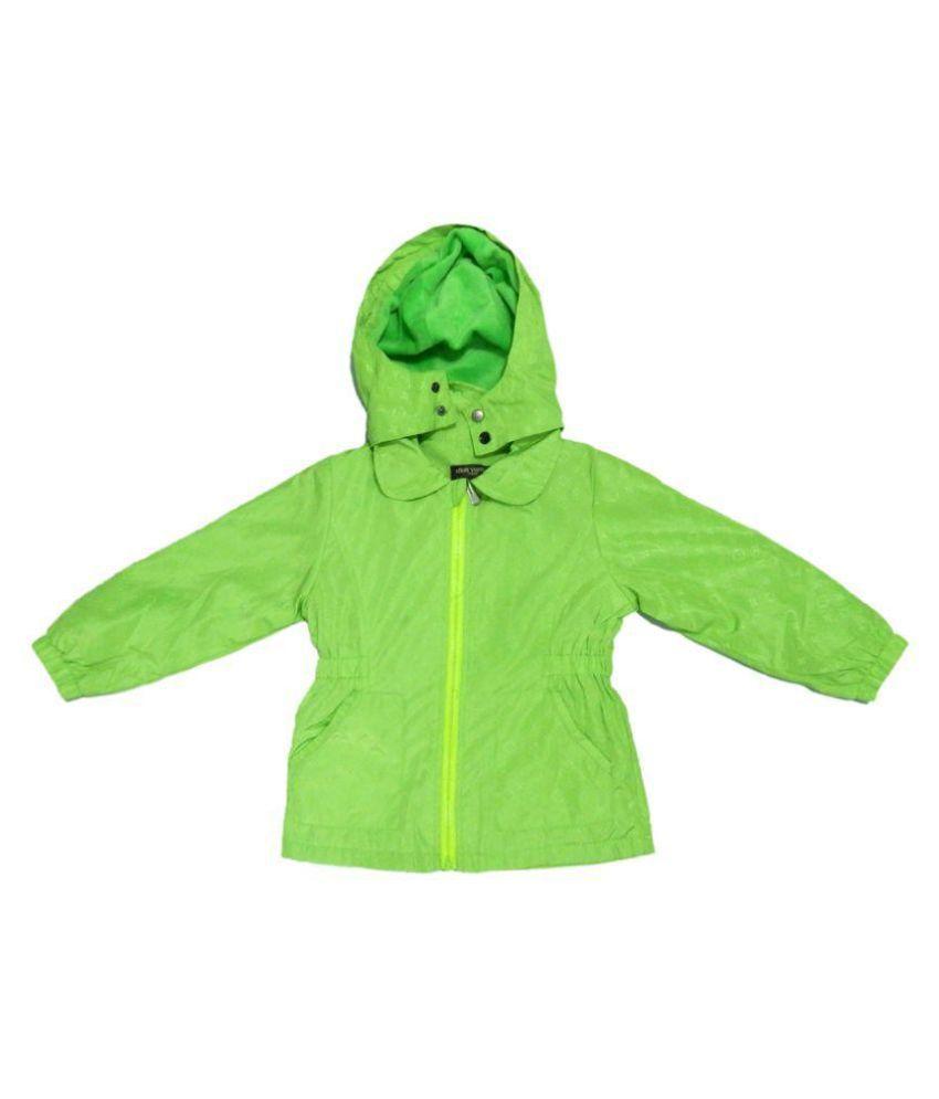 LV Neon Green Velvet Light Weight Jacket Single