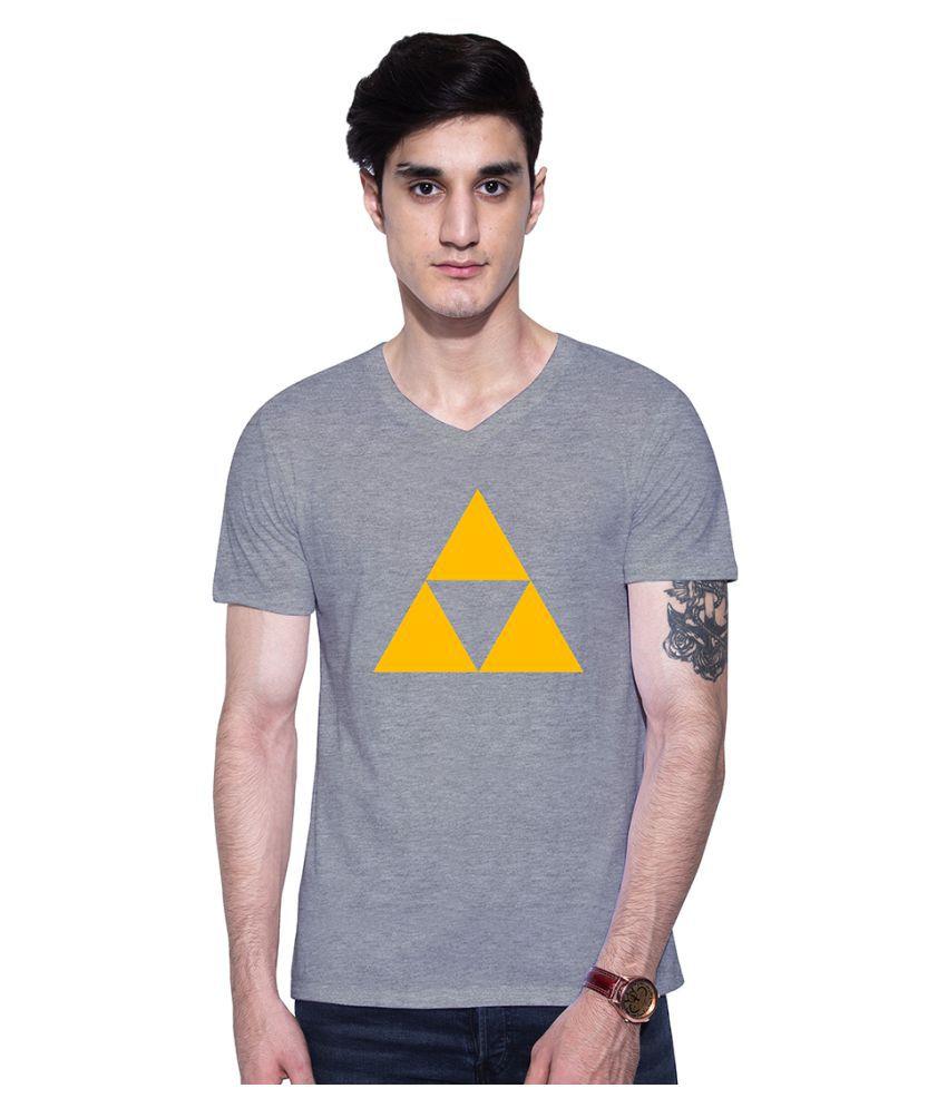 Uptown 18 Grey V-Neck T-Shirt