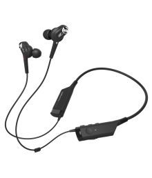Audio Technica ATH-ANC40BT In Ear Wireless Earphones With Mic Black