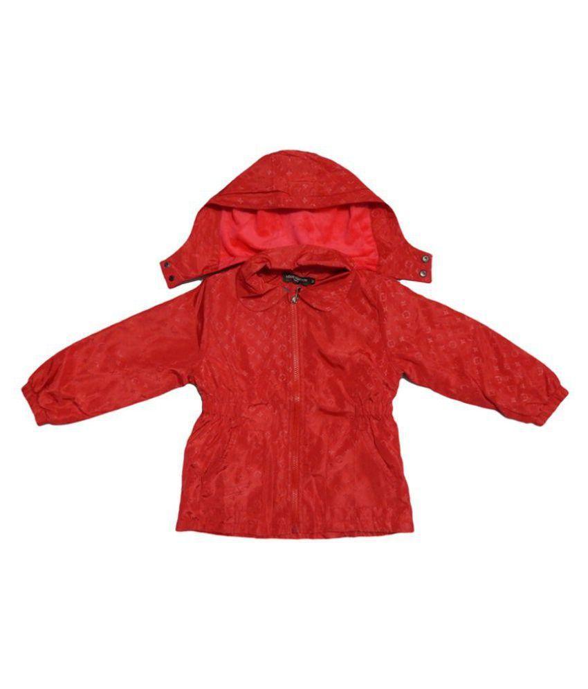LV Red Short Jacket