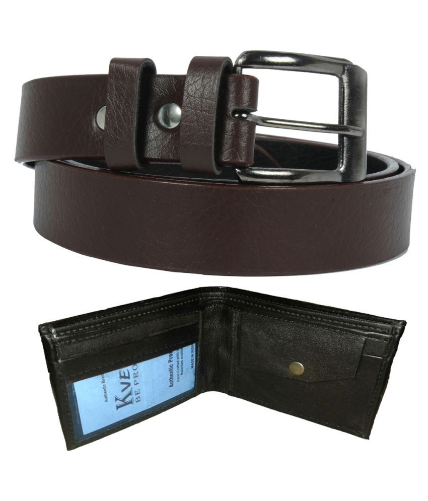 Kvell Be Proud Multi Faux Leather Formal Belts