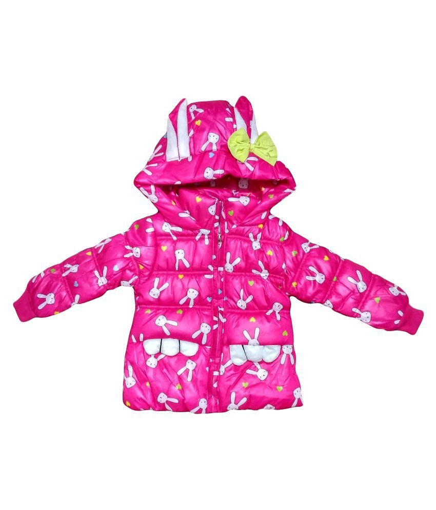 Fusion Fashion Pink Quilted Girl's Jacket