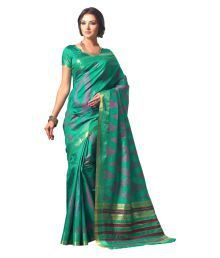 Kuberan Silks Multicoloured Raw Silk Saree