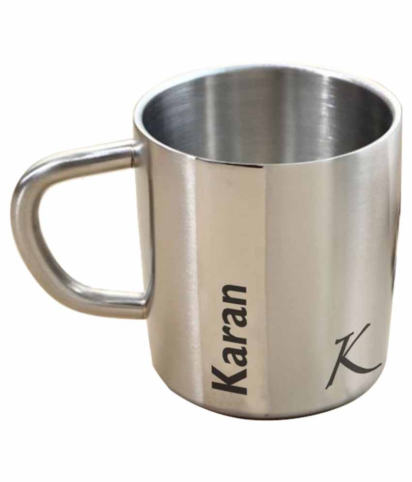 Hot Muggs Steel Coffee Mug 1 Pcs 200 ml