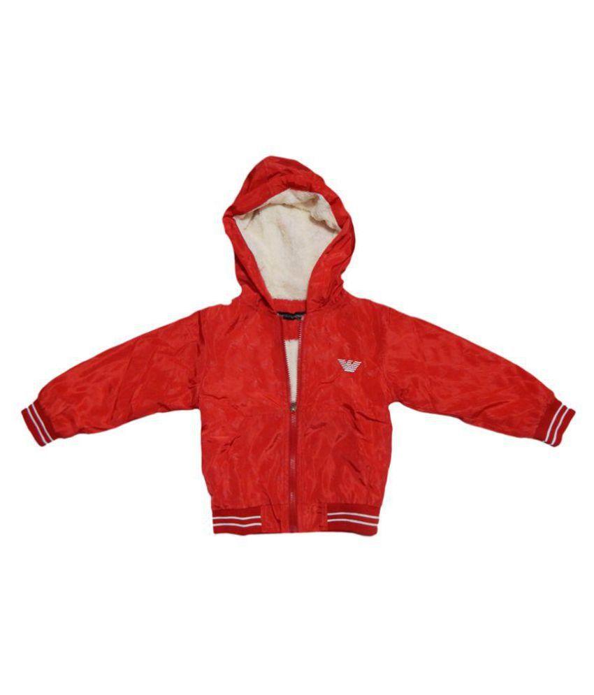Giorgio Armani Red Fleece Jacket