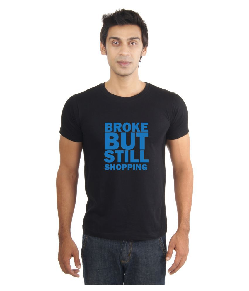 La Funny & Cool Tshirts Black Round T-Shirt