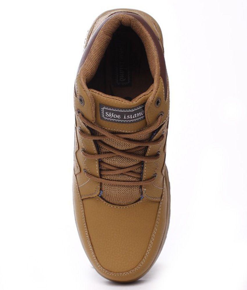 f6a1454556d0a Shoe Island Tan Party Shoes - Buy Shoe Island Tan Party Shoes Online ...