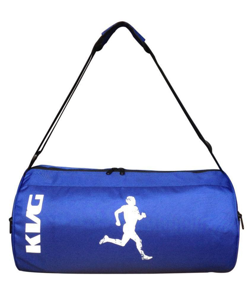 KVG Blue Gym Bag