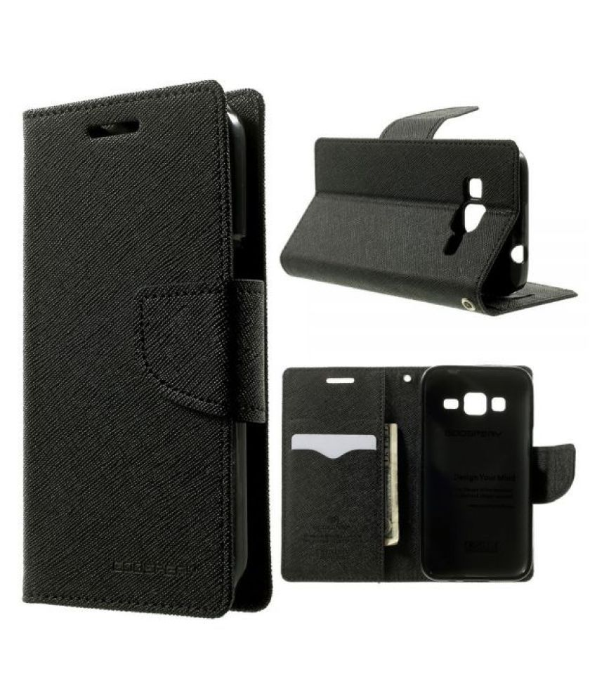 LYF Wind 1 Flip Cover by Kulasri Empire - Black