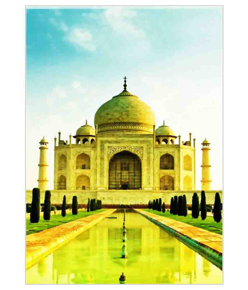 Nice Taj Mahal Wall Art Pictures Inspiration - The Wall Art ...