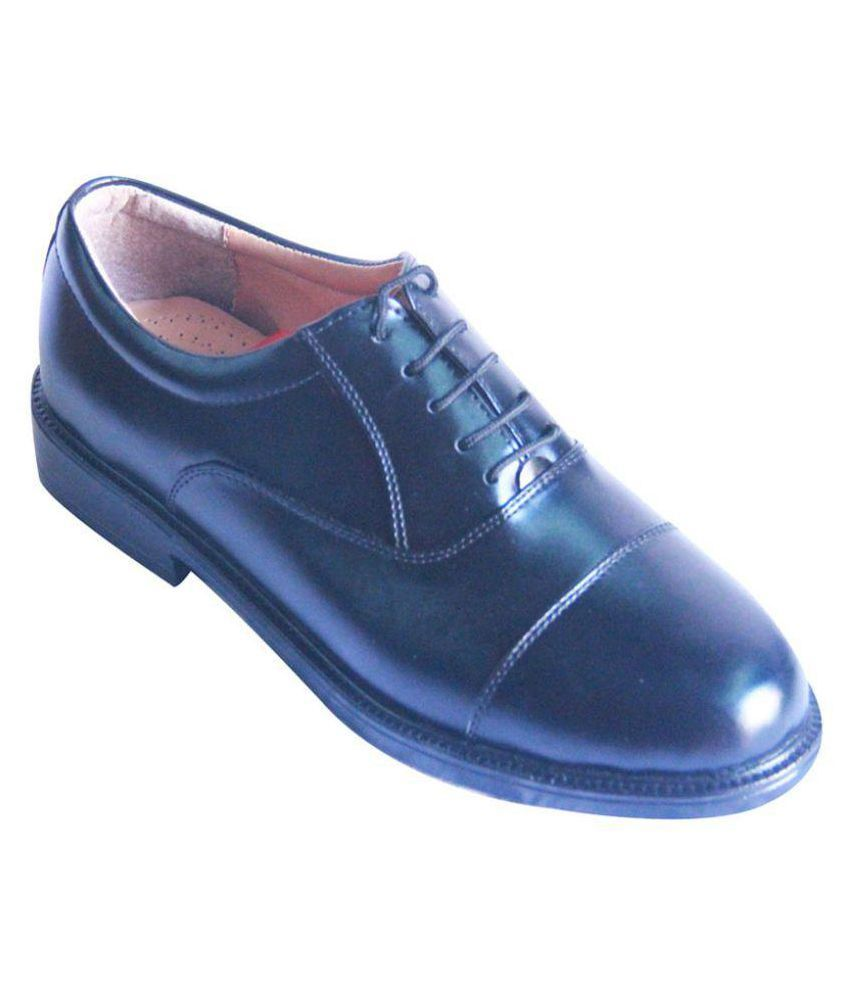 Bata Black Oxfords Genuine Leather Formal Shoes Price In India- Buy Bata Black Oxfords Genuine ...