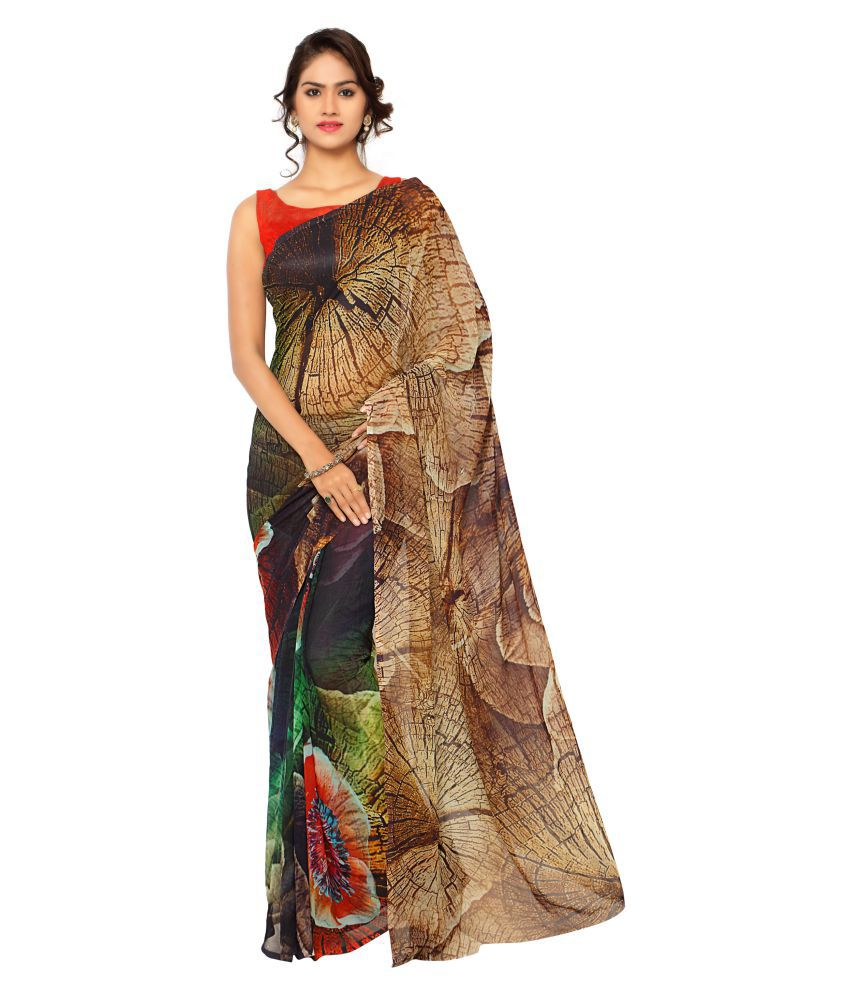 New Phase Multicoloured Art Silk Saree