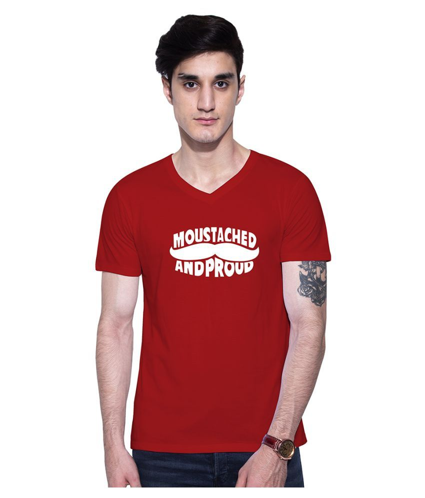 Uptown 18 Red V-Neck T-Shirt