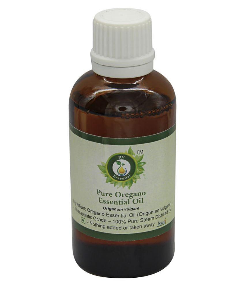 R V Essential Pure Oregano Essential Oil 50ml- Origanum Vulgare