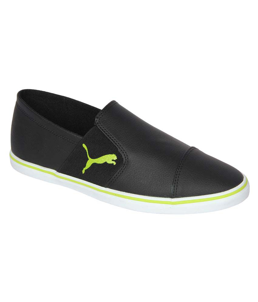 3e4ce1cd02d93b Puma PUMA SHOES Elsu v2 Slip On SL IDP Sneakers Black Casual Shoes - Buy Puma  PUMA SHOES Elsu v2 Slip On SL IDP Sneakers Black Casual Shoes Online at  Best ...