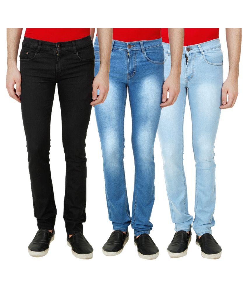Ansh Fashion Wear Multi Regular Fit Solid
