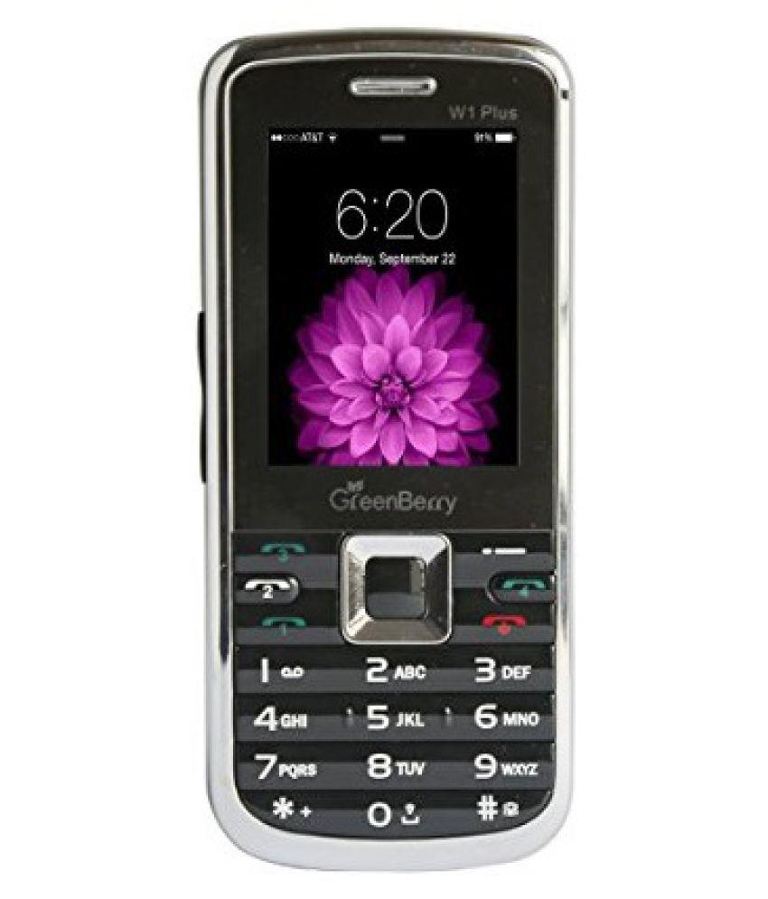 GreenBerry W1 PLUS 4 GB and Below Black