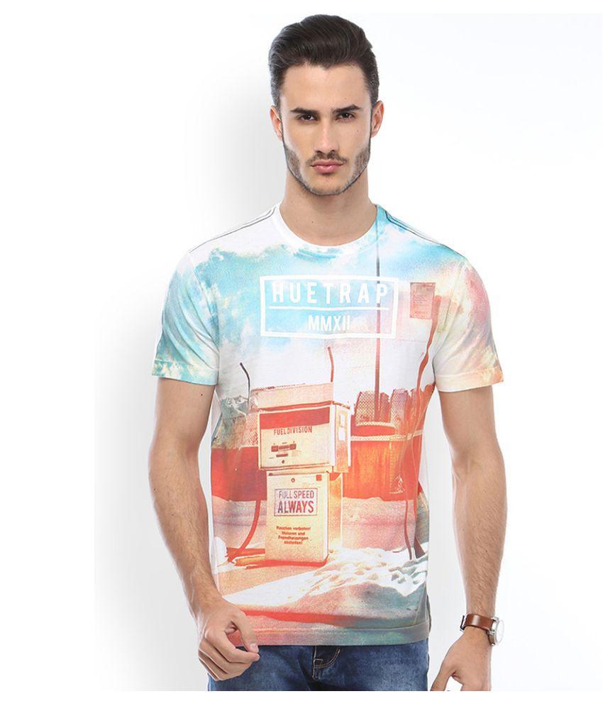Huetrap Multi Round T-Shirt