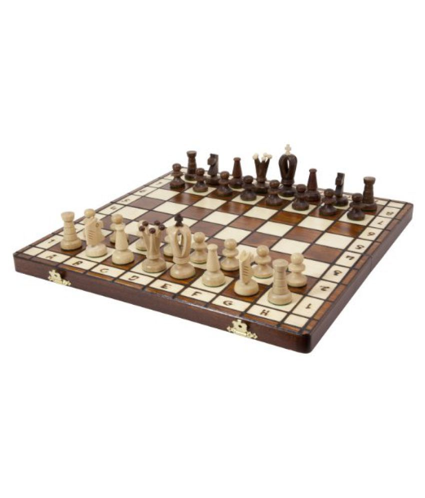 Royal 36 European Wood International Chess Set