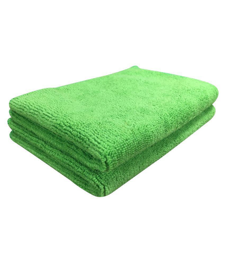 Microfiber Cloth Dusting: Softspun Green Microfiber Home, Kitchen, Bathroom Dusting