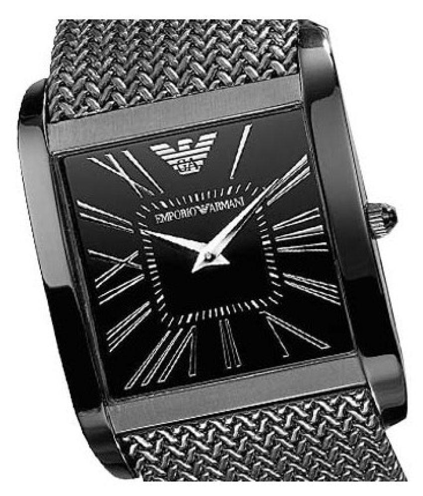 Emporio Armani AR2028 Nylon Wrist Watch for Men - Buy Emporio Armani ... 8b43b83242