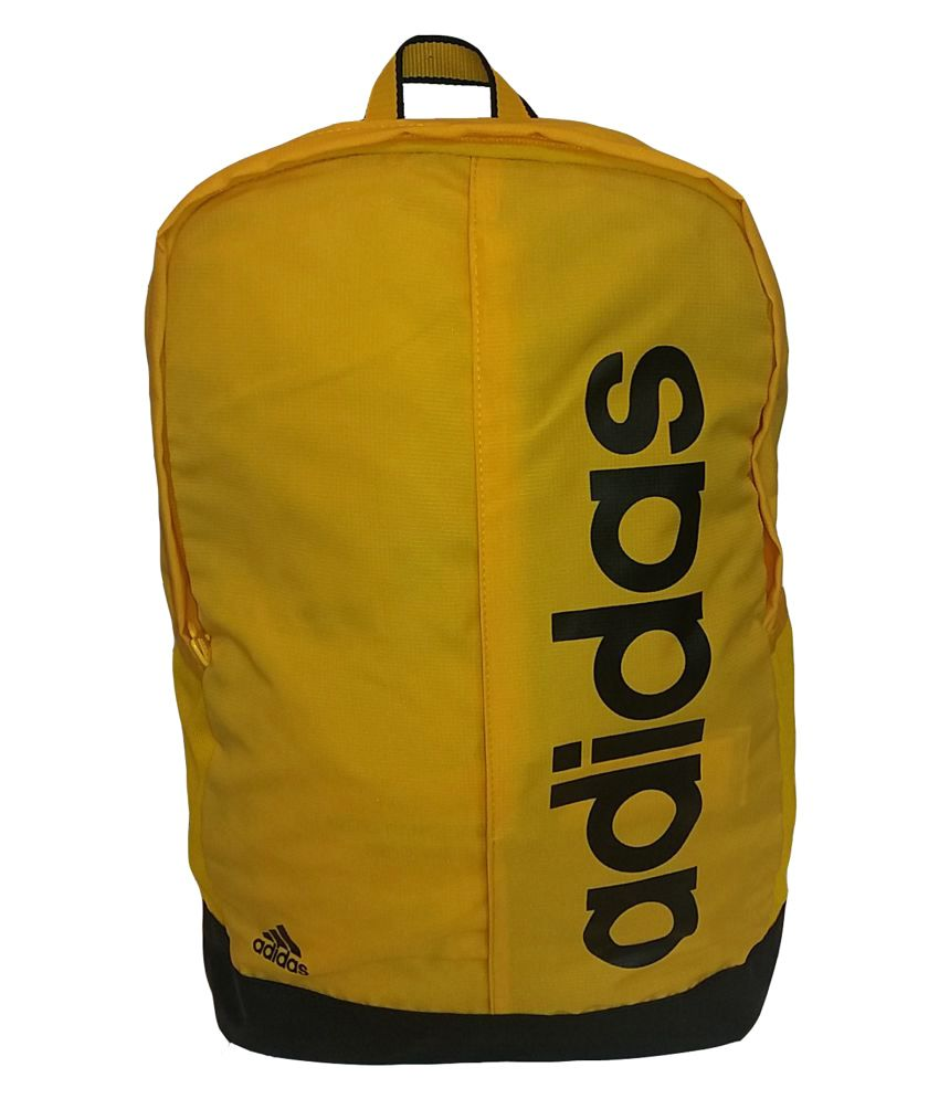5abfe5e2a2 Adidas Yellow Backpack - Buy Adidas Yellow Backpack Online at Low Price -  Snapdeal