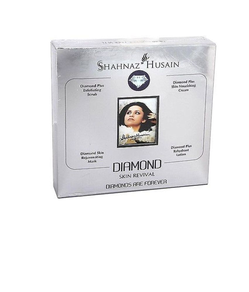 Shahnaz Husain Skin Revival Diamond Kit 4 Pcs & Free White Superfresh Compact