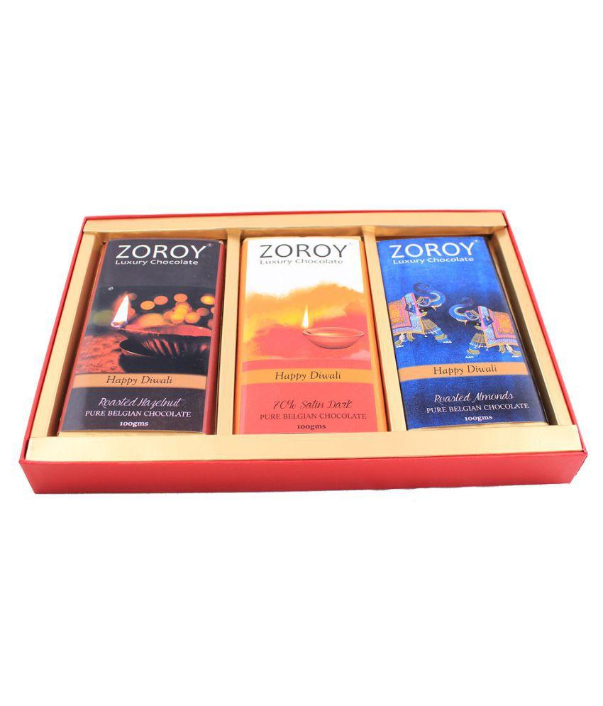 ZOROY LUXURY CHOCOLATE Diwali Chocolates Collection Chocolate Box 300 gm