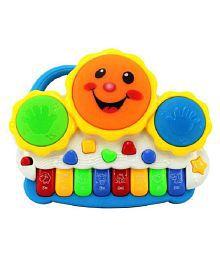 Smiles Creation Lighting Drum Keyboard Musical Toy