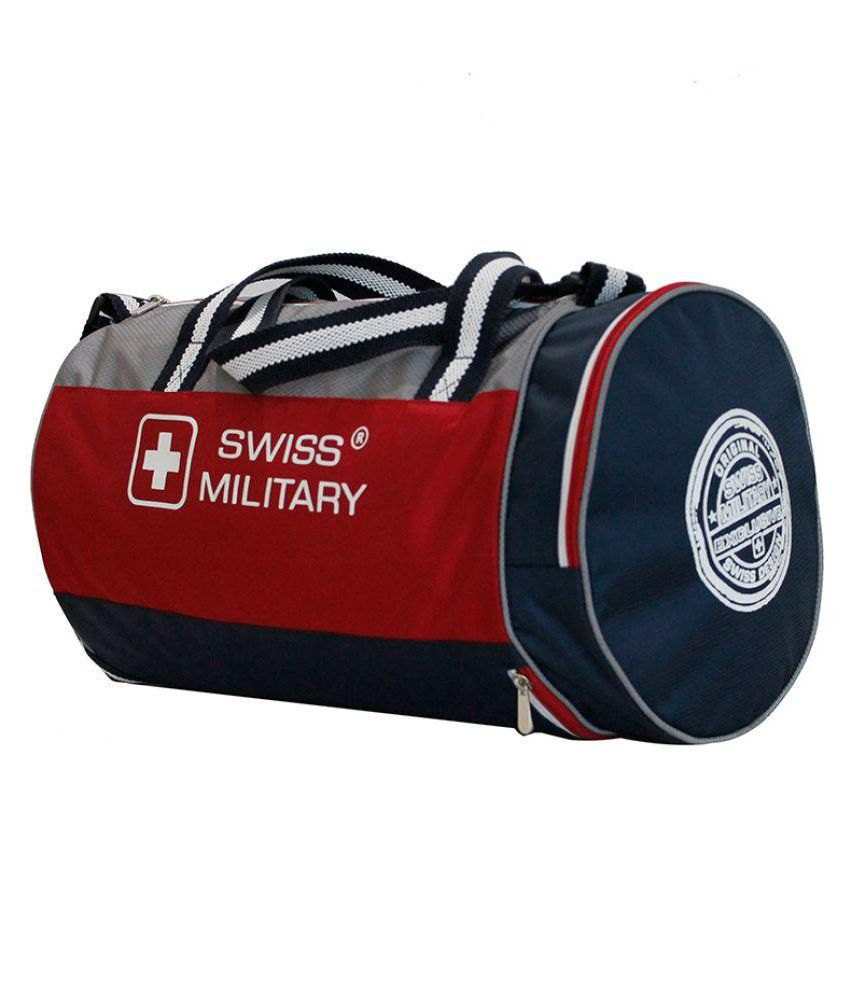 Swiss Military Multicolour Medium Polyester Gym Bag