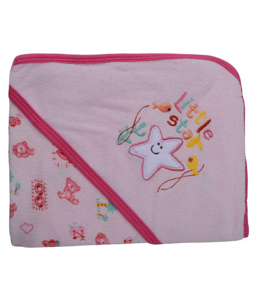 Kidzvilla Multicolor Baby Hooded Bath Towel