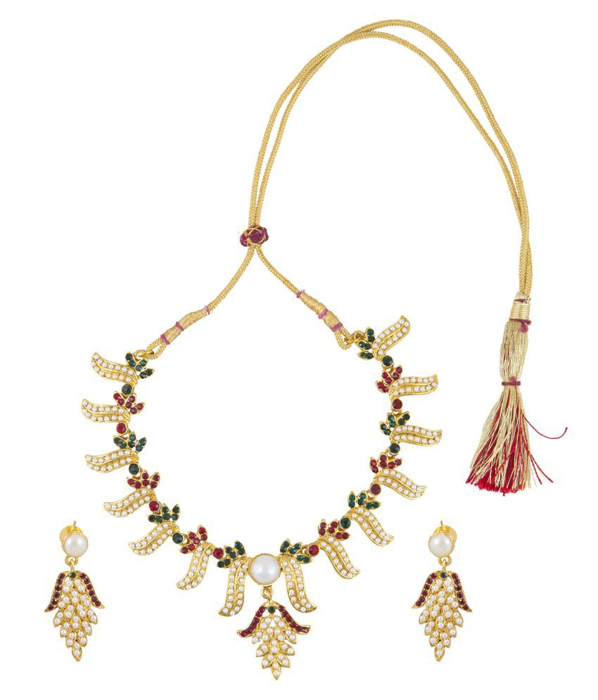 Inaya Multicolor Necklace Set