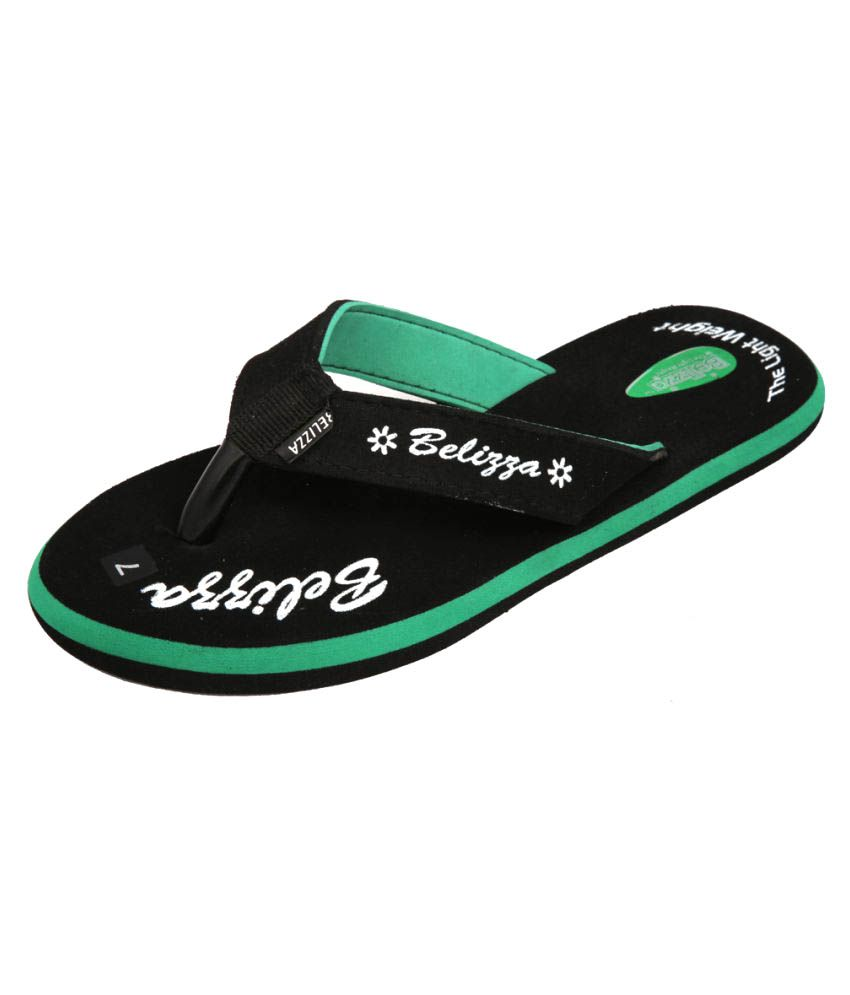 Kirlu Black Flip Flop