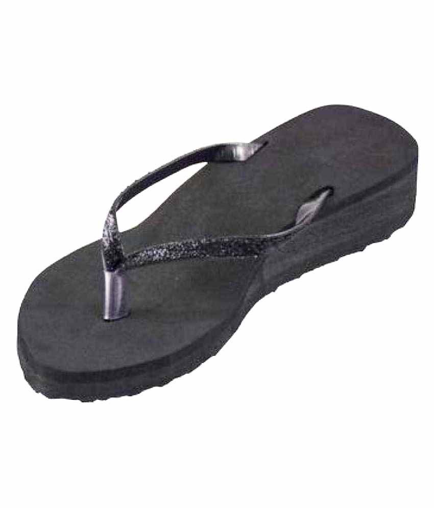 Kirlu Black Slippers