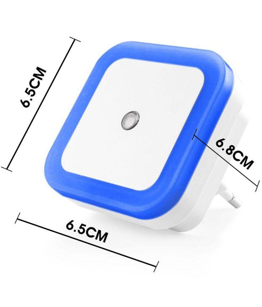 Automatic led energy saving night lamp -  Lagfly Automatic Sensor Control Led Energy Saving Night Lamp Blue