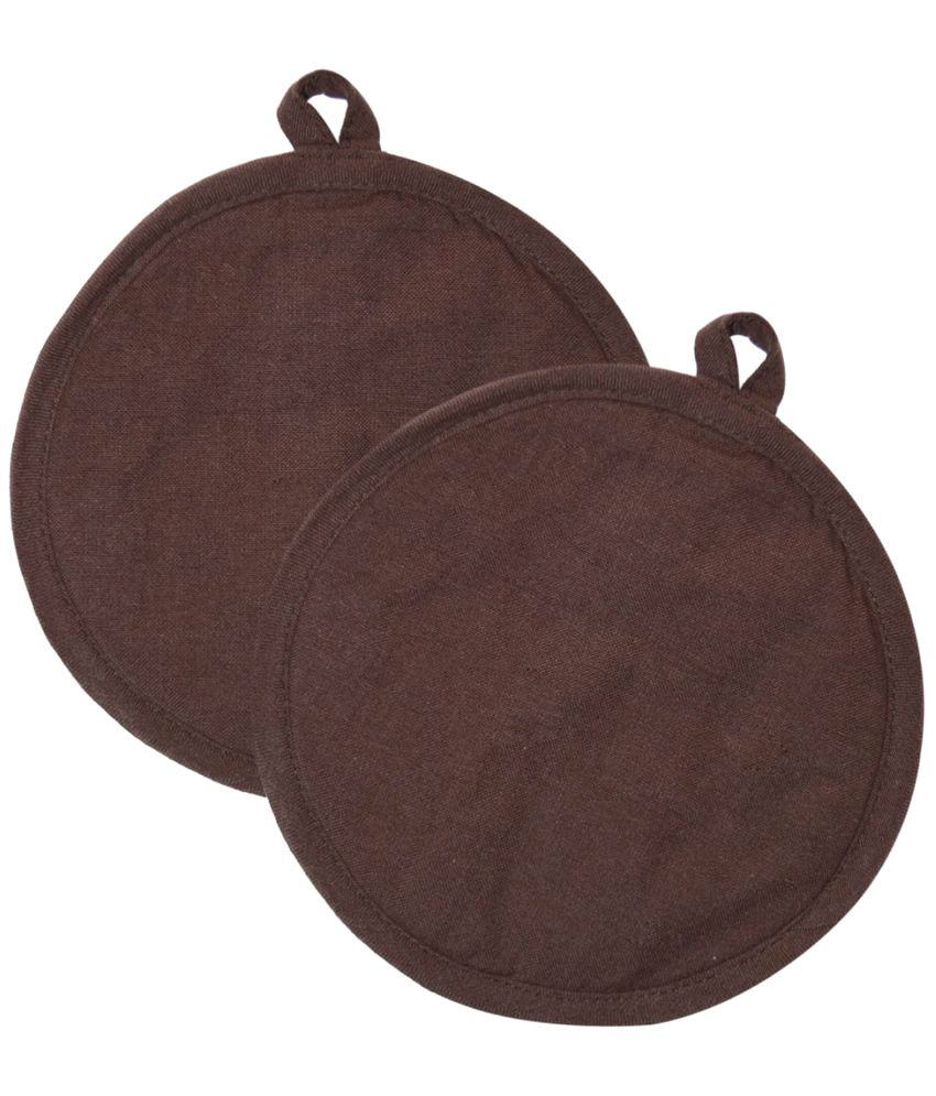 Ocean Collection Brown Cotton Pot Holder - 2 Pieces