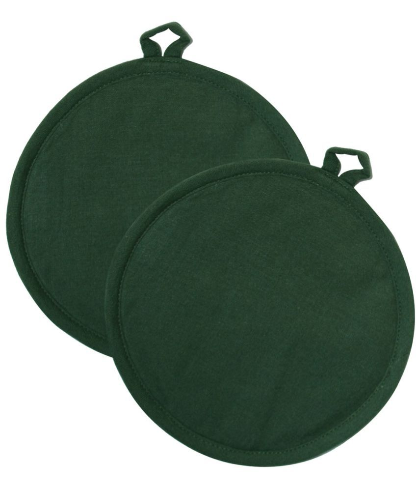 Ocean Collection Green Cotton Pot Holder - 2 Pieces