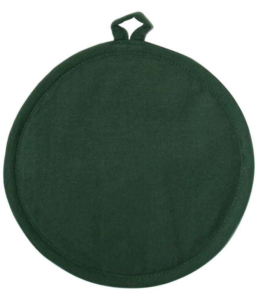 Ocean Collection Green Round Cotton Pot Holder