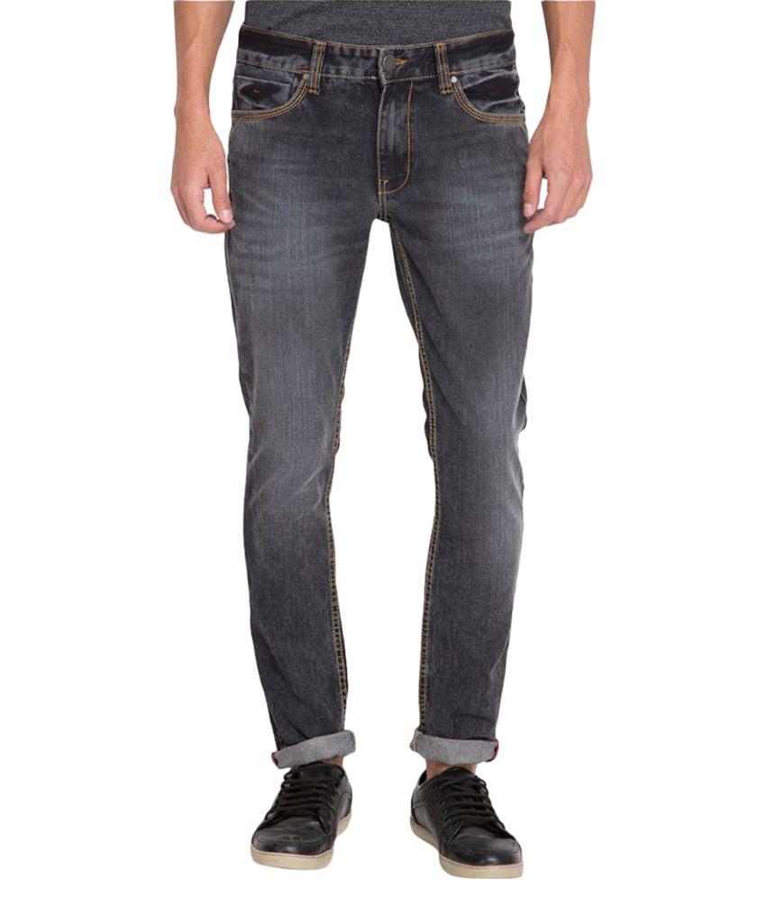 Locomotive Grey Straight Jeans