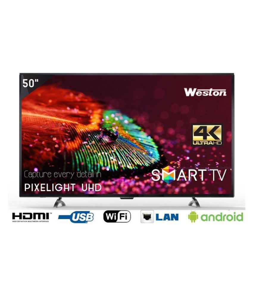 Weston WEL-5101 127 cm ( 50 ) Smart Ultra HD (4K) LED Television