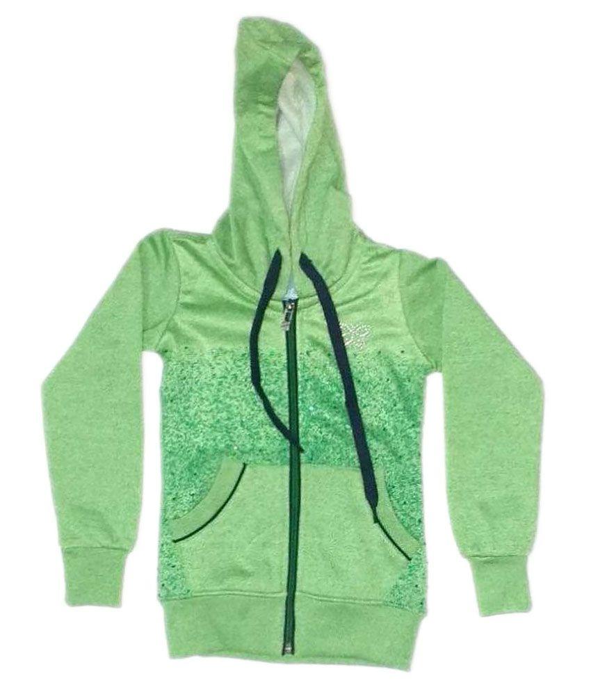 Cuddlezz Green Sweatshirt