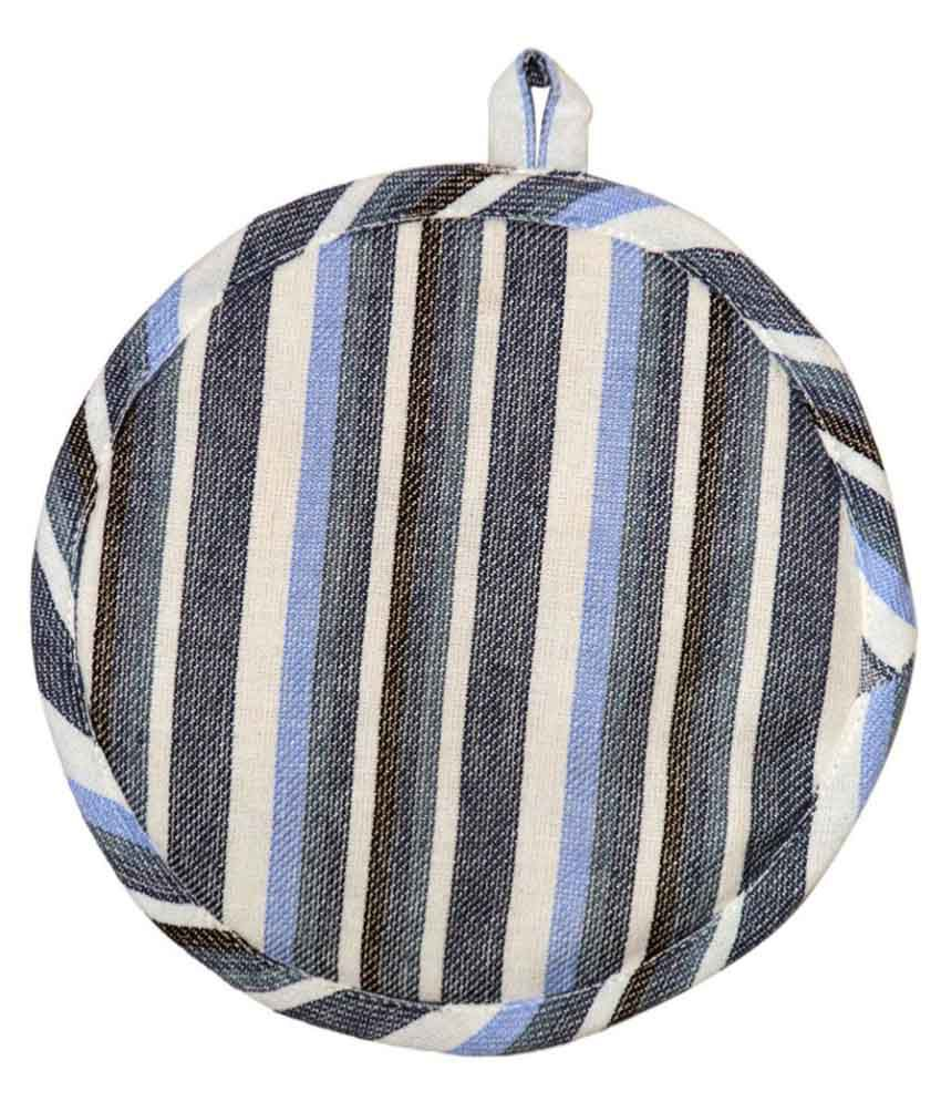 Ocean Collection Multi Color Round 1 Pot Holder