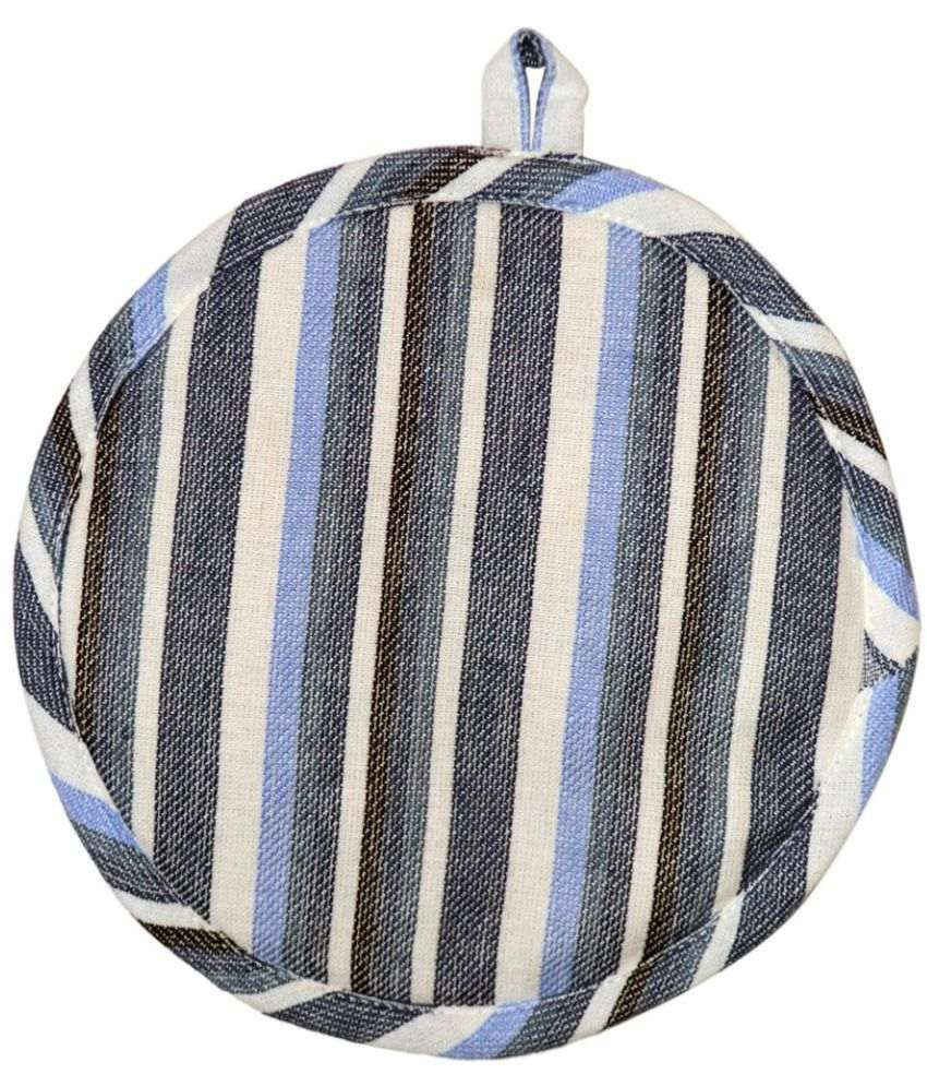 Chromatic Collections Multicolor Round Pot Holder