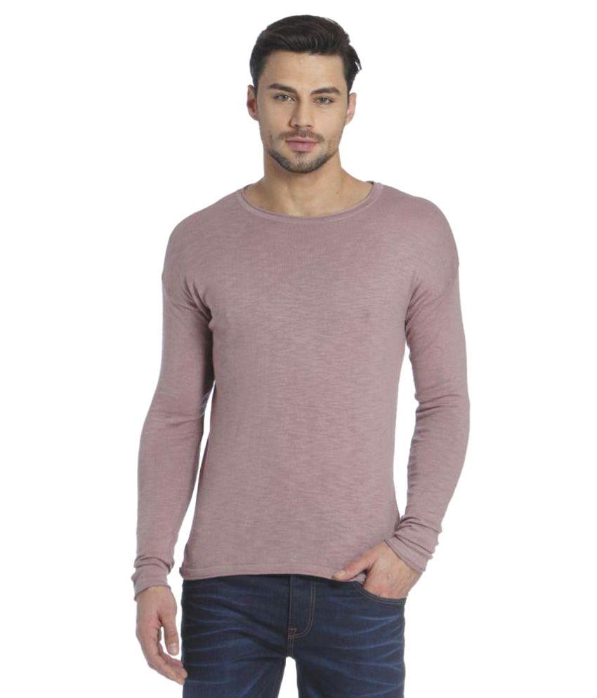 Jack & Jones Purple Round T-Shirt