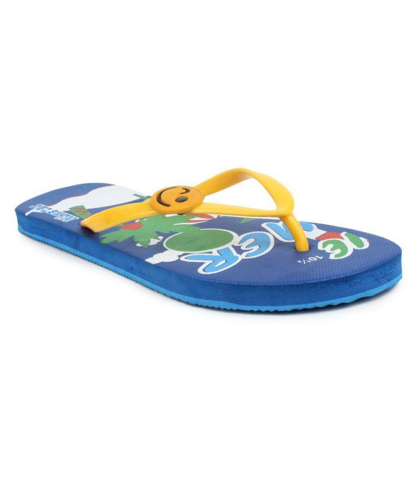 Amatra Yellow Slippers
