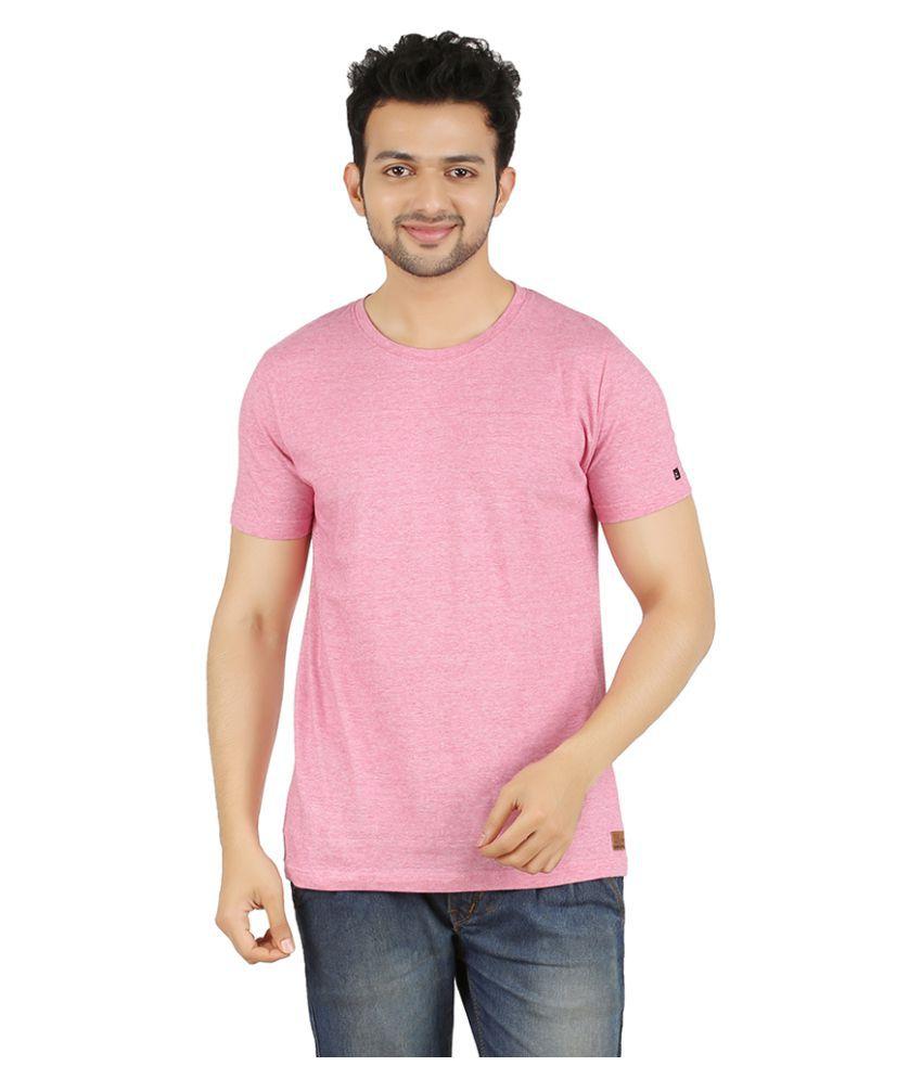 Zero One Pink Round T-Shirt