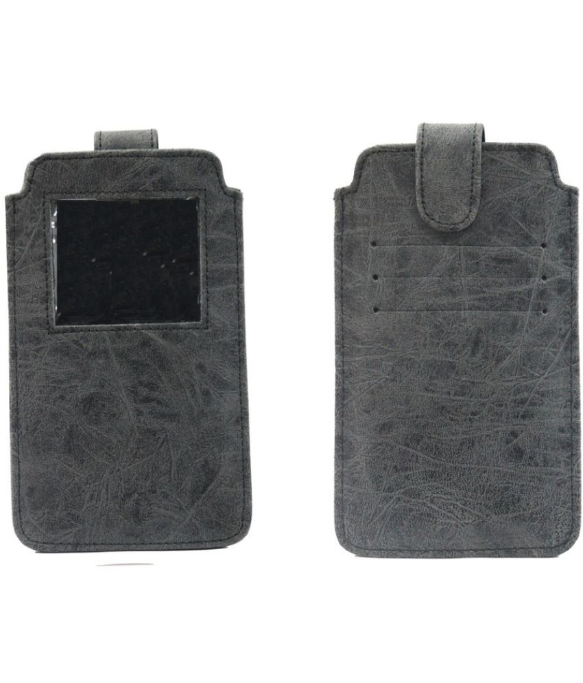 Nokia Lumia 521 Holster Cover by Jojo - Grey - Holsters Online at
