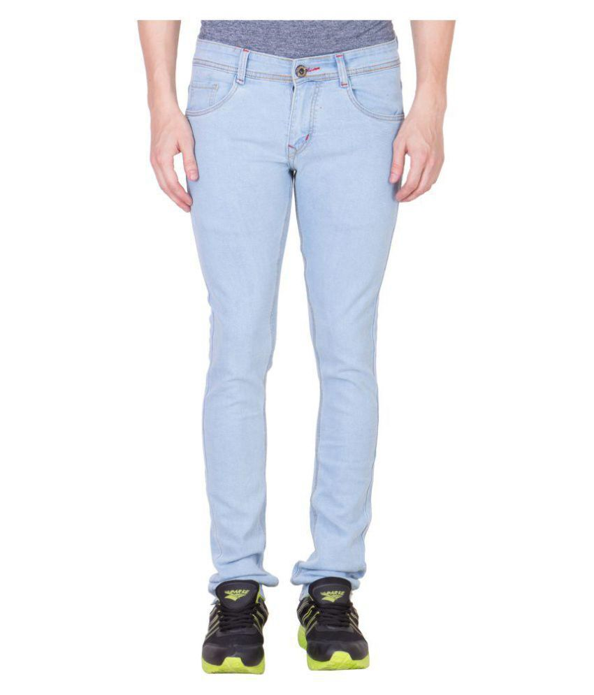 Maxxone Light Blue Regular Fit Jeans
