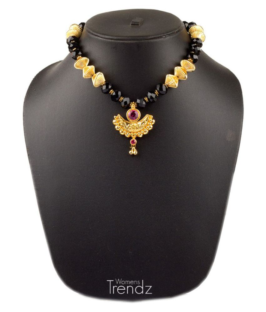 Womens Trendz 9k Yellow Gold Necklace